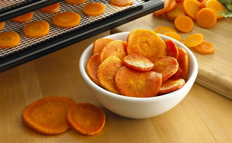 dehydrating carrots at home