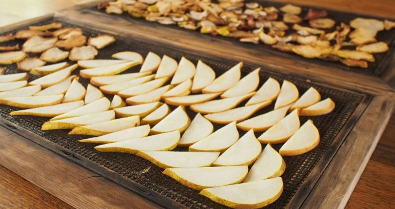 dehydrating pears