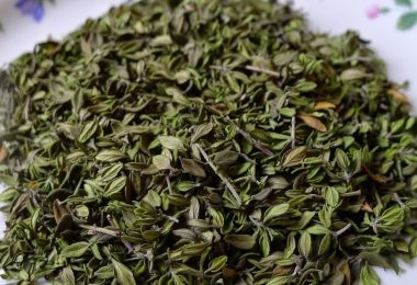 drying thyme at home