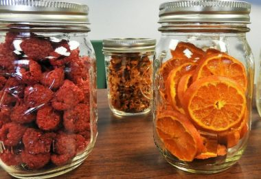 store dried fruits