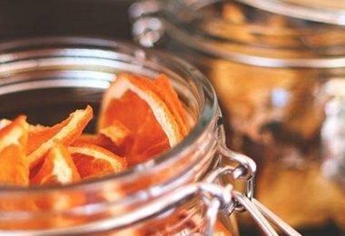 dehydrating oranges