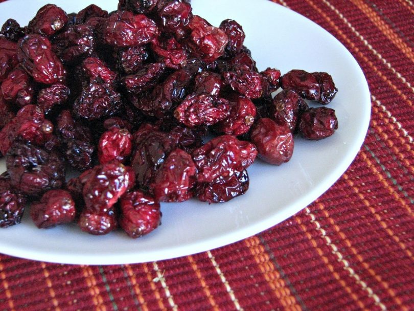 health benefits of dried cranberries