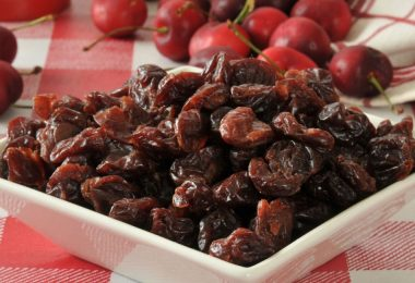 health benefits of dried cherries