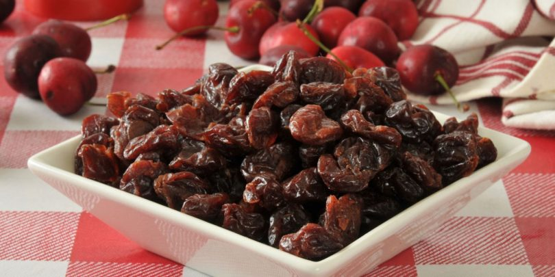 health benefits of dried cherries