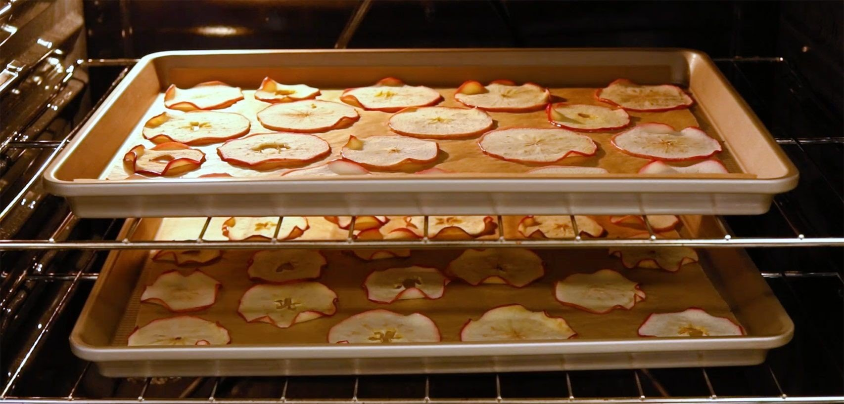 how to dehydrate food in an oven