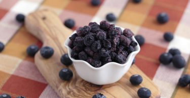 storing dried blueberries