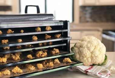 dehydrating cauliflower