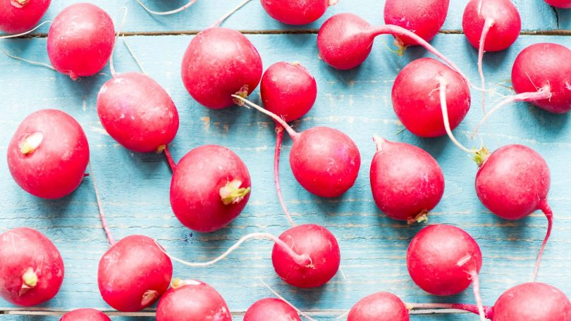 dehydrating radishes